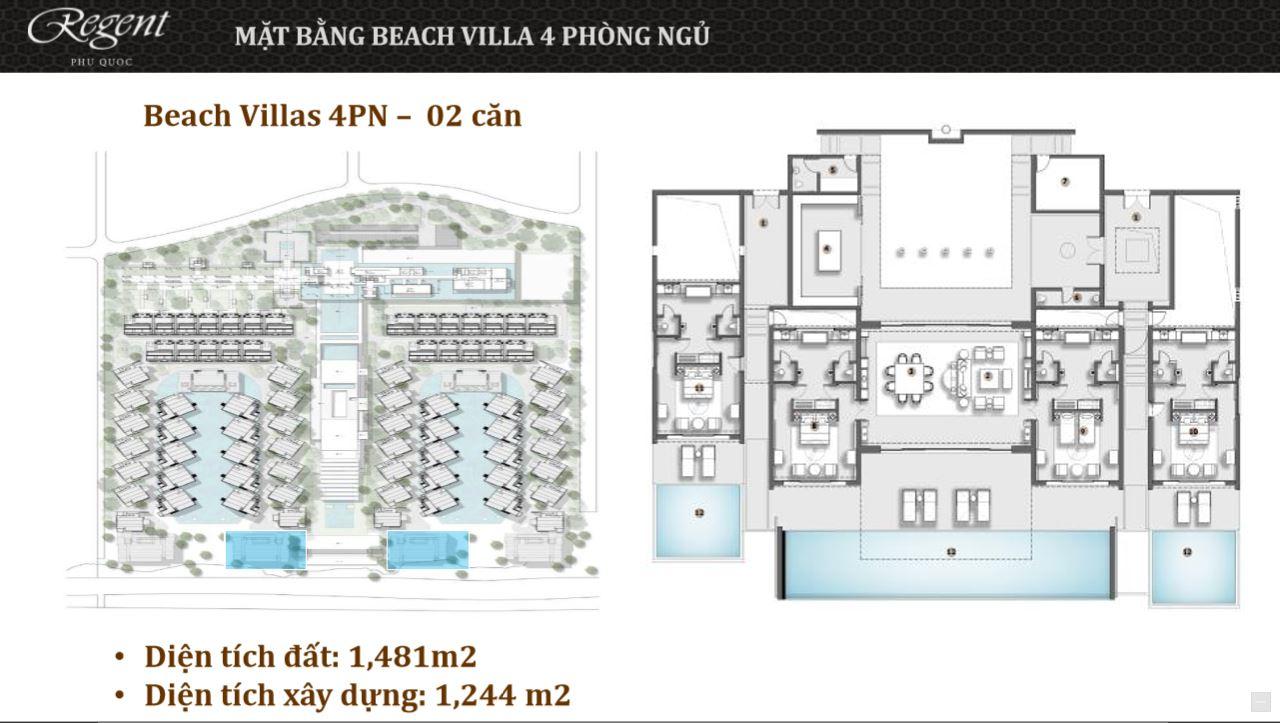 Beach Villas 4PN regent-phuquoc.com regent phú quốc REGENT PHU QUOC RESIDENCES || Trang chính thức dự án Regent Residences Phú Quốc Beach Villas 4PN regent phuquoc