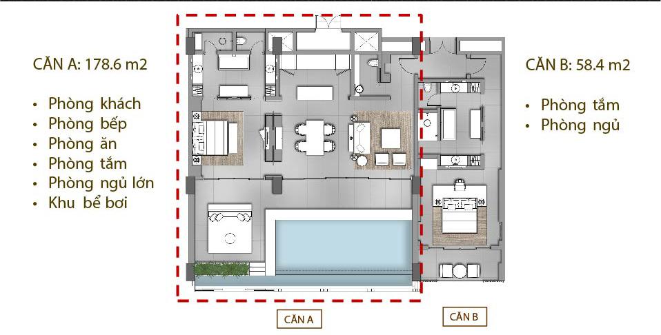 THIẾT KẾ LOCK OFF ĐỘC ĐÁO SKY VILLAS regent phú quốc REGENT PHU QUOC RESIDENCES || Trang chính thức dự án Regent Residences Phú Quốc THI   T K    LOCK OFF      C     O SKY VILLAS